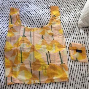 NWOT BAGGU Poppy Reusable Tote Bag
